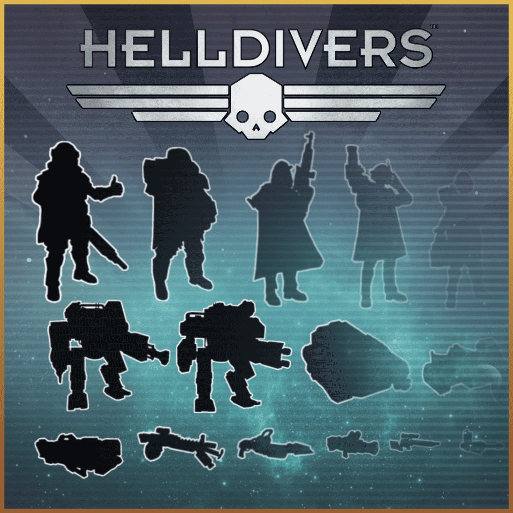 HELLDIVERS™ REINFORCEMENTS MEGA BUNDLE
