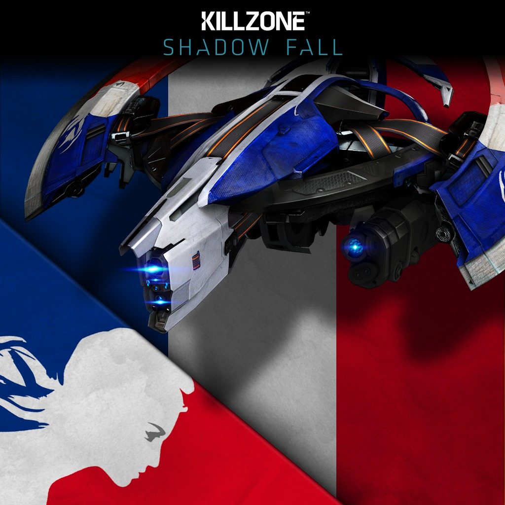 Killzone™ Shadow Fall Bastille Day Skin Pack