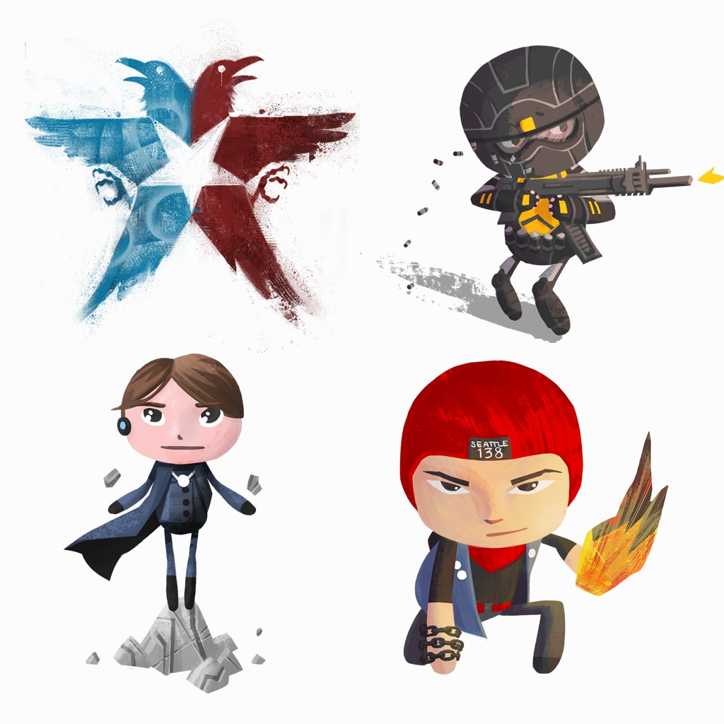 inFAMOUS Second Son Avatar Pack