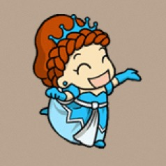 Fat Princess: Blue Princess Avatar