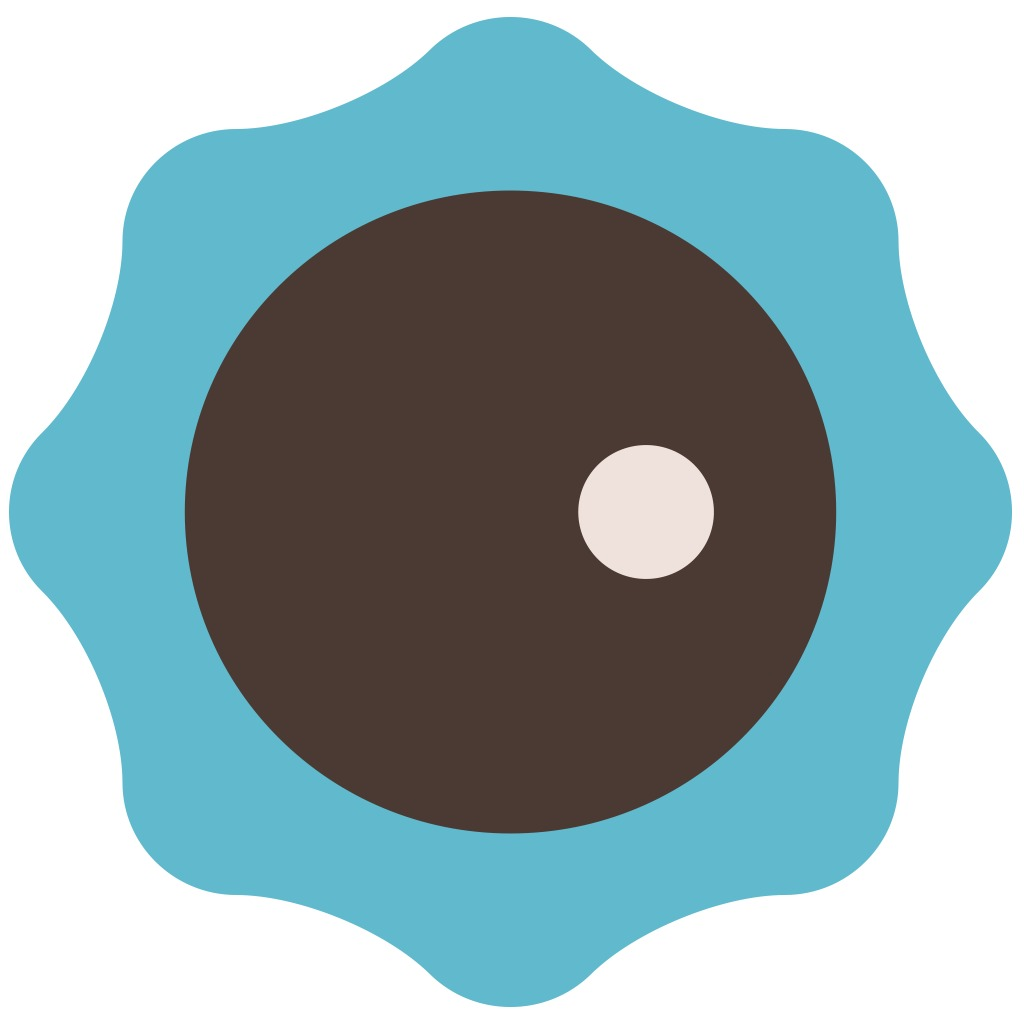 Sound Shapes™ Player Blue Avatar