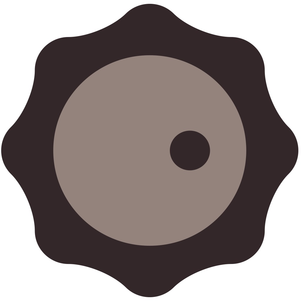 Sound Shapes™ Player Brown Avatar