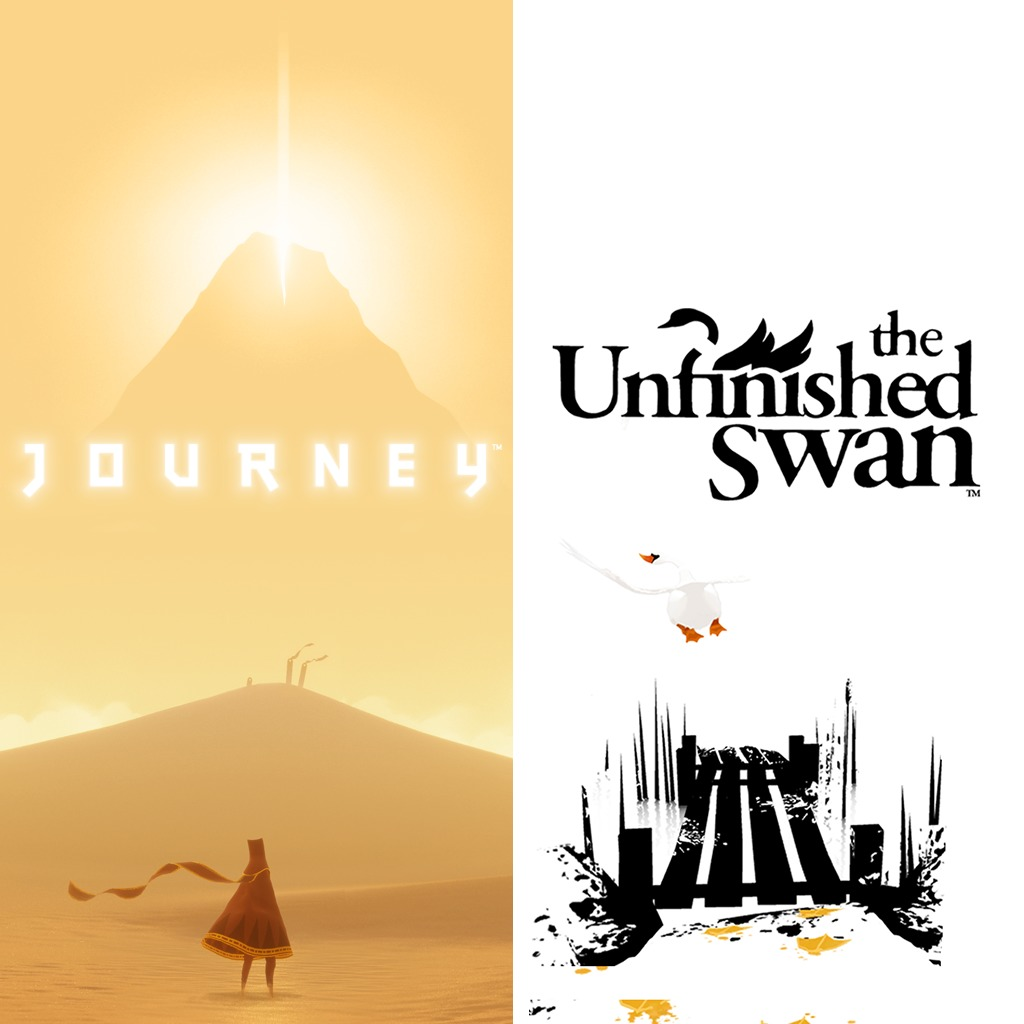 The Unfinished Swan™  & Journey™ Bundle