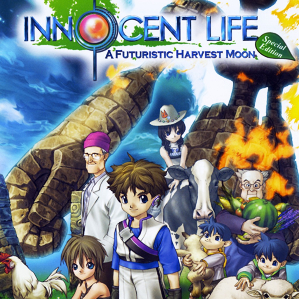 innocent life a futuristic harvest moon special edition ps2