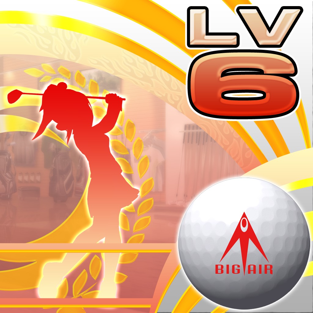 Hot Shots Golf: World Invitational™ - Big Air Ball Lv 6