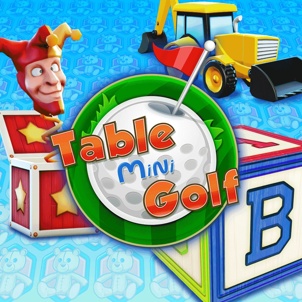 Table Mini Golf Toy Land Course Pack