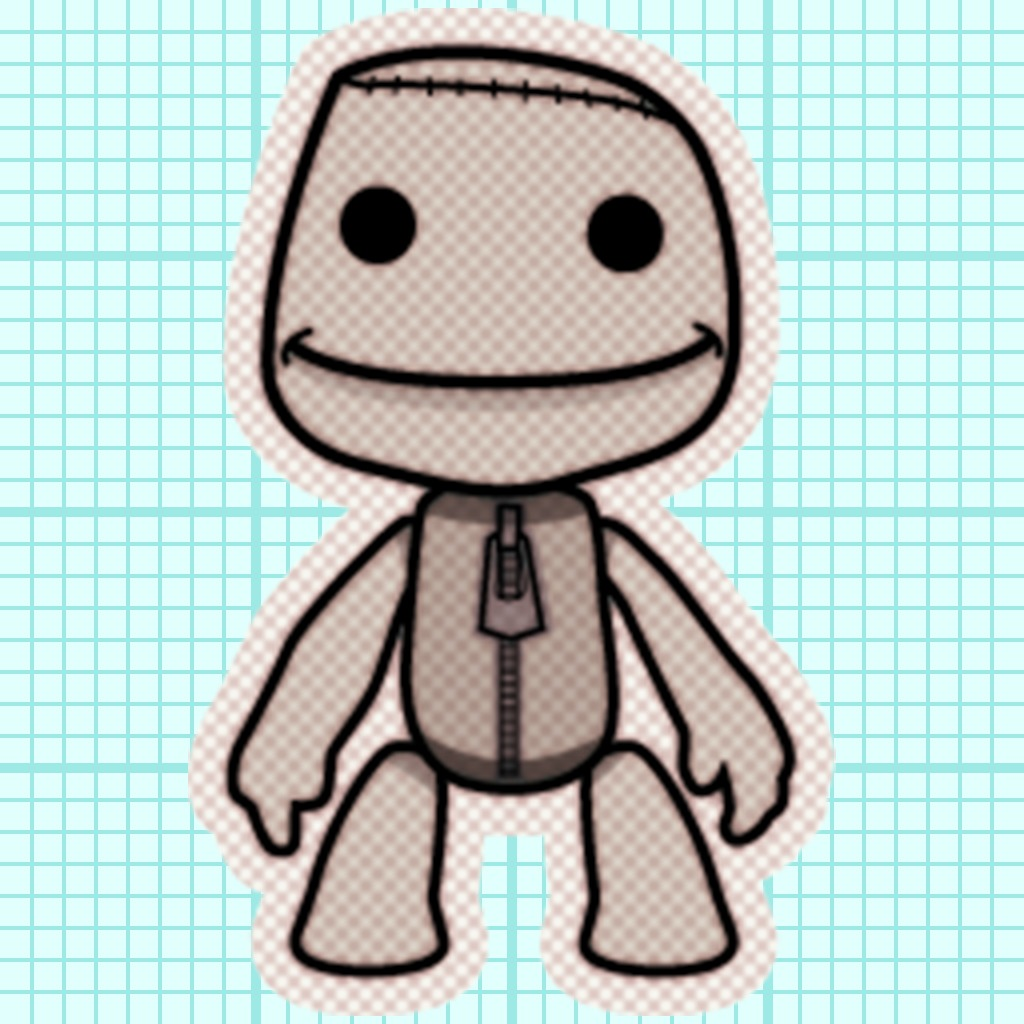 Paint Park™ Plus LittleBigPlanet Sticker Set 2
