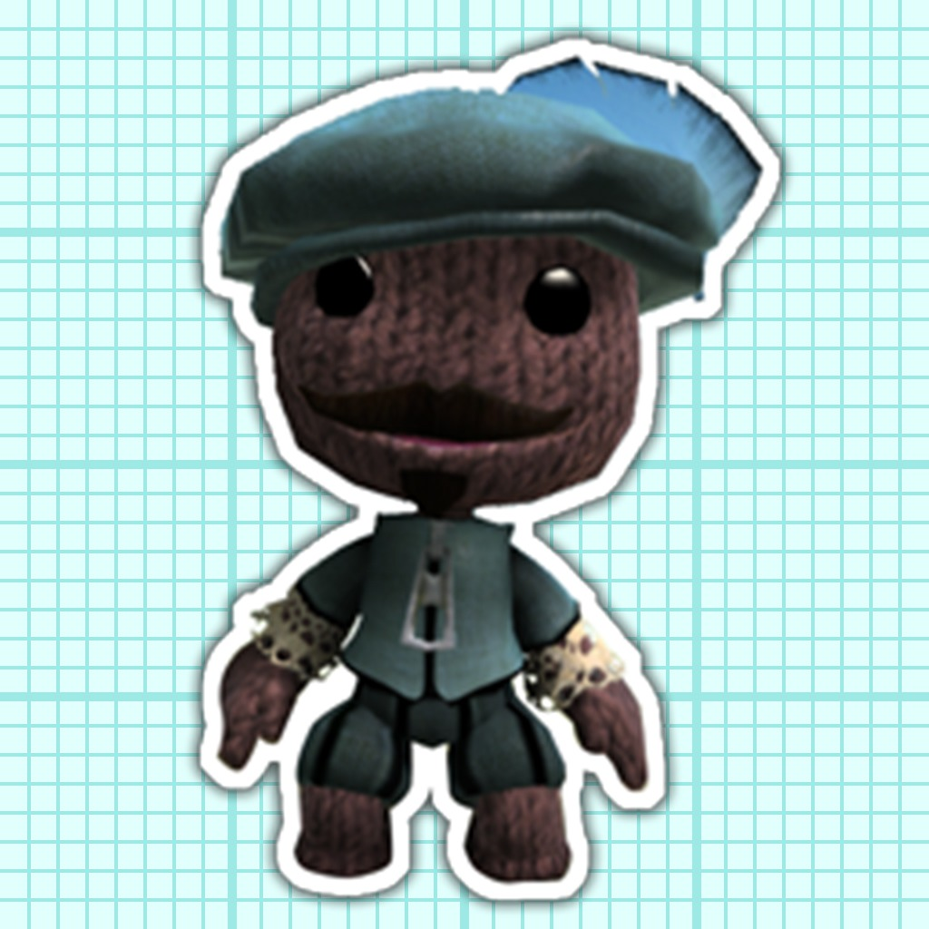 Paint Park™ Plus LittleBigPlanet Sackboy's Costume Sticker Set