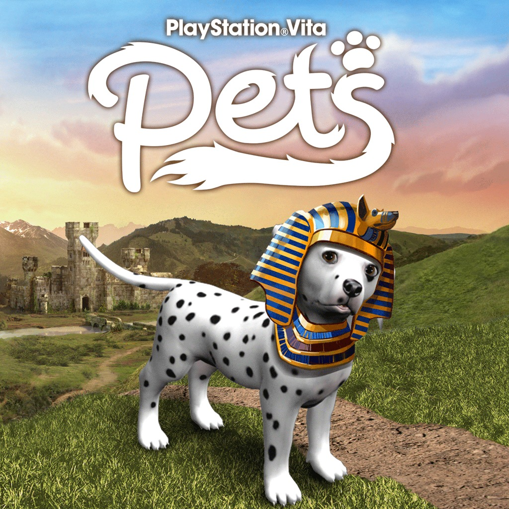 Playstation®Vita Pets - Egyptian Pharaoh Costume