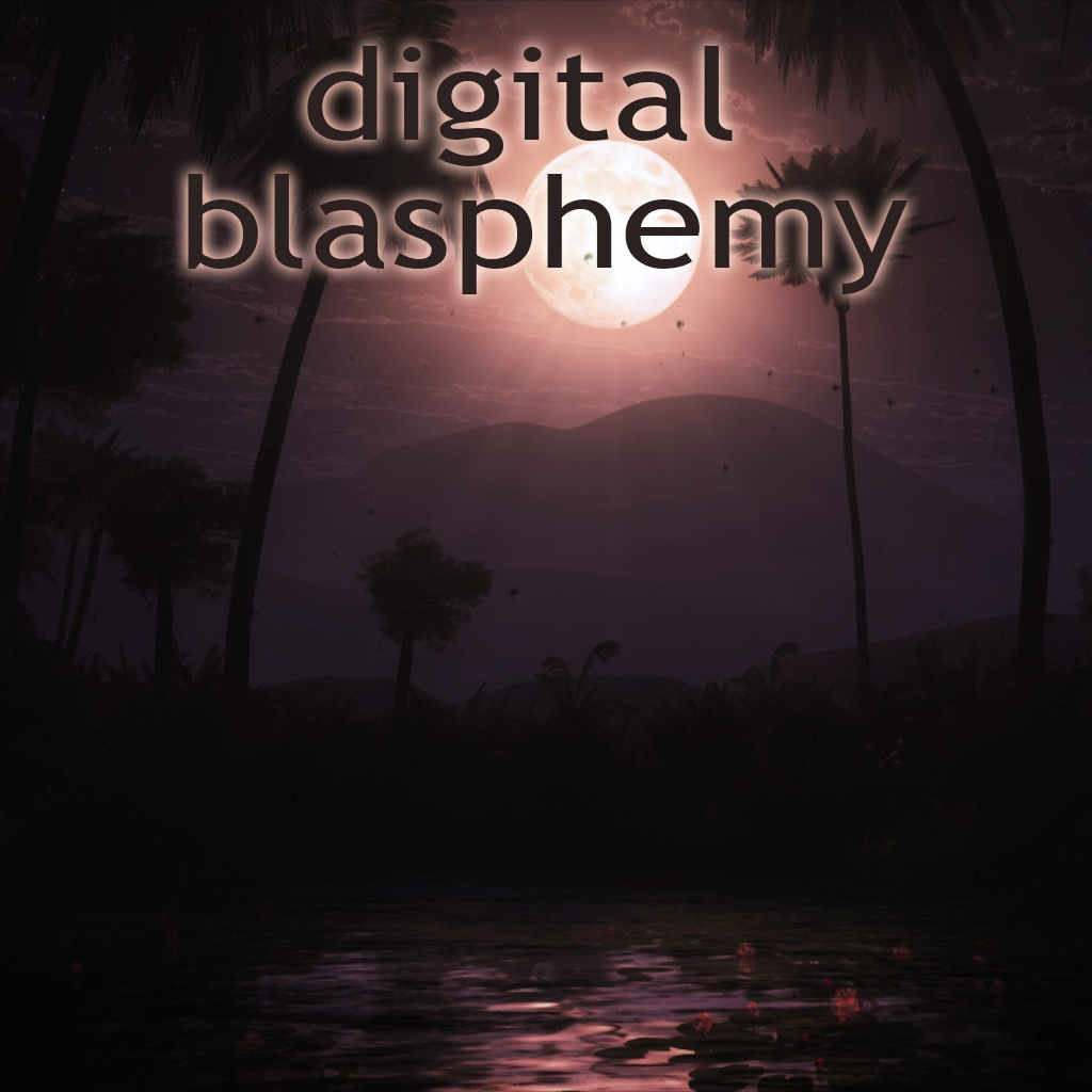 Digital Blasphemy: Moonlit Oasis Dynamic Theme