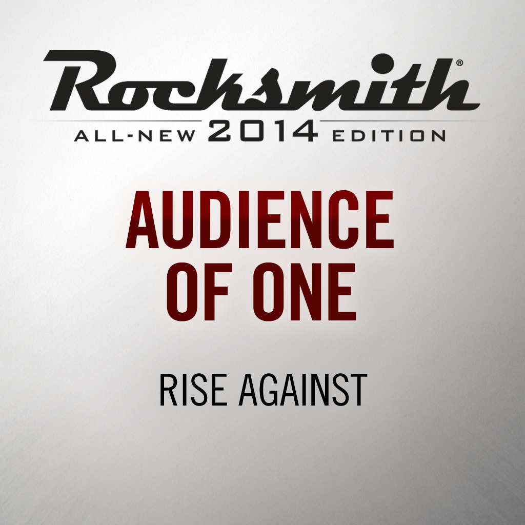 Audience of One - Rise Against