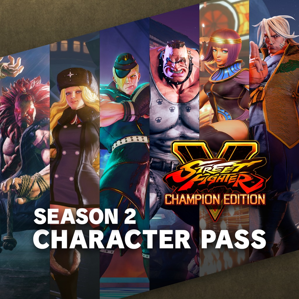 Street Fighter V - Character Pass 2017