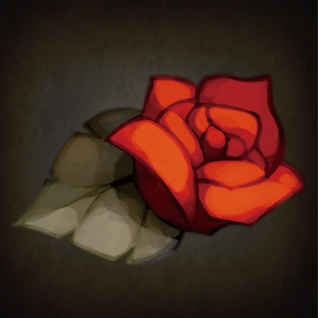 A Rose in the Twilight - Flower Avatar