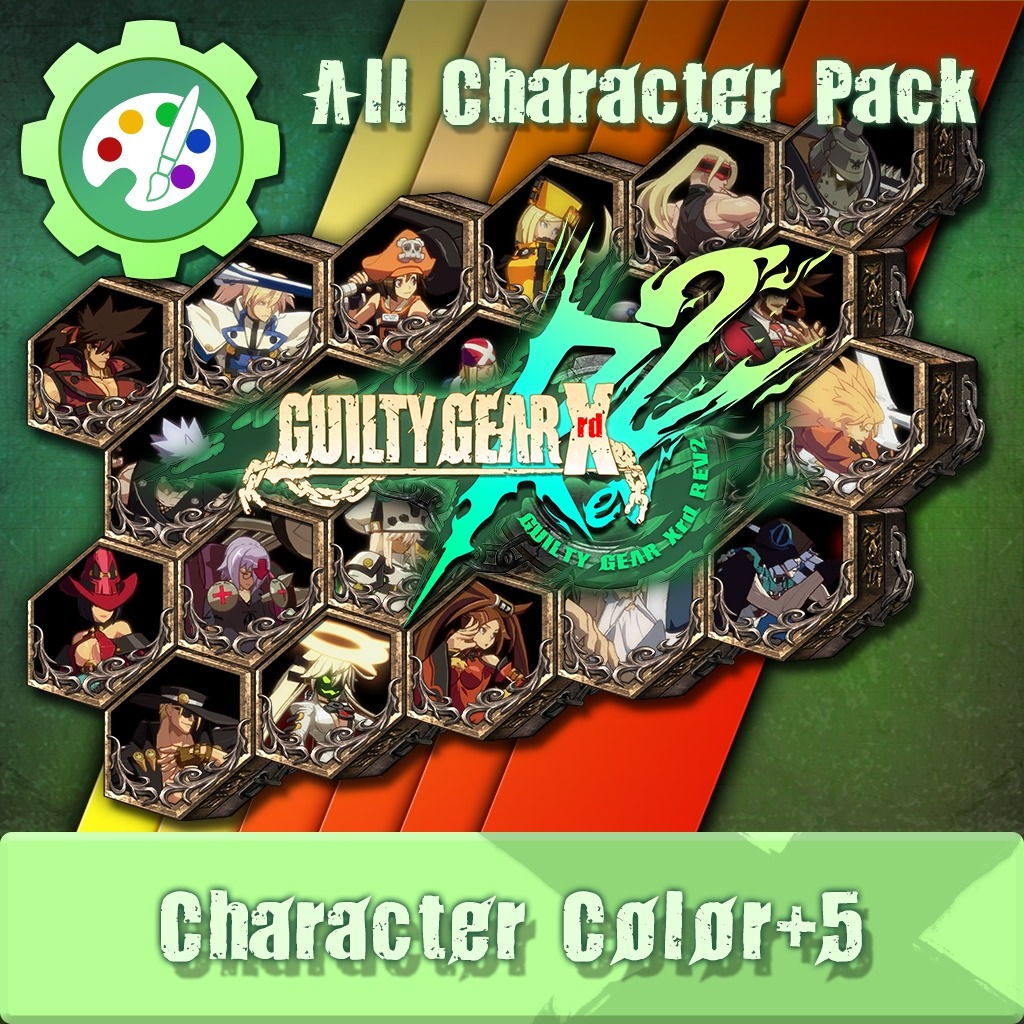 GUILTY GEAR Xrd Rev.2 Additional Character Color - All in Pack