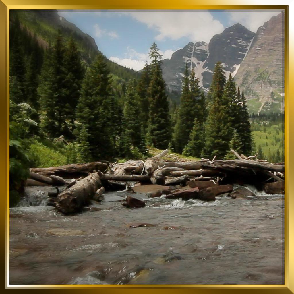 (Slide N' Go) Alpine River Dynamic Theme