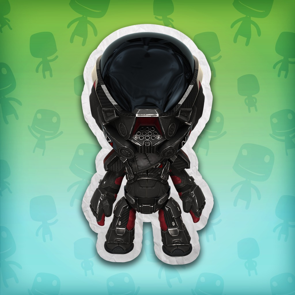 Mass Effect: Andromeda N7 Armour Costume – LittleBigPlanet 3