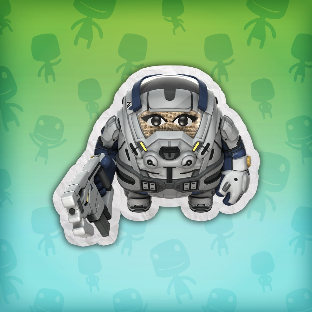 Mass Effect: Andromeda AI Armour Costume – LittleBigPlanet 3